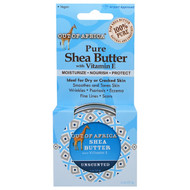 3 PACK of Out of Africa, Pure Shea Butter with Vitamin E, Unscented, 2 oz (57 g)