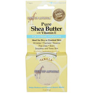 3 PACK of Out of Africa, Pure, Shea Butter with Vitamin E, Vanilla, 2 oz (56 g)