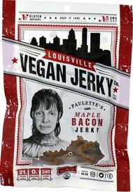 3 PACK of Louisville Vegan Jerky Co, Vegan Jerky, Paulettes Maple Bacon, 3 oz (85.05 g)