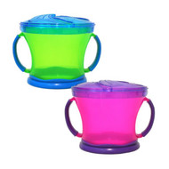 3 PACK of Munchkin Snack Catcher Assorted Colors -- 2 Pack