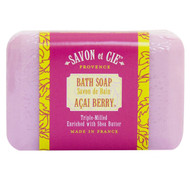 Savon et Cie, Bath Soap, Acai Berry, 7 oz (200 g)