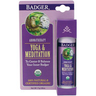 3 PACK OF Badger Company, Yoga & Meditation, Cedarwood & Mandarin, .60 oz (17 g)