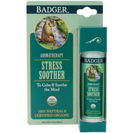 3 PACK OF Badger Company, Stress Soother, Tangerine & Rosemary, .60 oz (17 g)