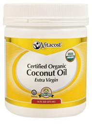 3 PACK of Vitaco Extra Virgin Certified Organic Coconut Oil -- 16 fl oz - Non-GMO