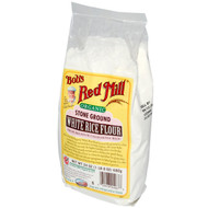 3 PACK of Bobs Red Mill, Organic Stone Ground White Rice Flour, 24 oz (680 g)