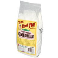 Bobs Red Mill, Organic Stone Ground White Rice Flour, 24 oz (680 g)