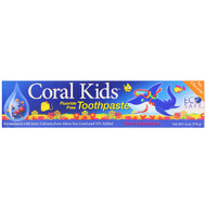 3 PACK OF CORAL , Coral Kids Toothpaste, Berry Bubblegum, 6 oz (170 g)