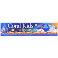 CORAL , Coral Kids Toothpaste, Berry Bubblegum, 6 oz (170 g)