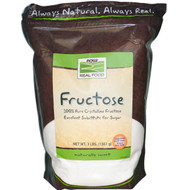 NOW Foods Real Food Fructose -- 3 lbs