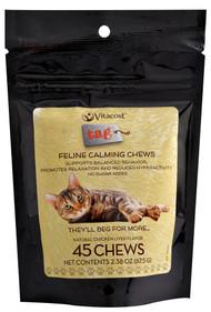 Vitaco - Tag, Feline Calming Chews - Chicken Liver Flavor - 45 Chewables