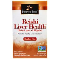 Bravo Teas & Herbs, Reishi Liver Health Herbal Tea, 20 Tea Bags, 1.06 oz (30 g)