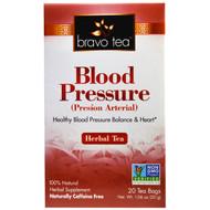 3 PACK of Bravo Tea Blood Pressure Herbal Tea -- 20 Tea Bags