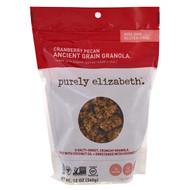 3 PACK OF Purely Elizabeth, Organic Ancient Grain Granola, Cranberry Pecan, 12 oz (340 g)
