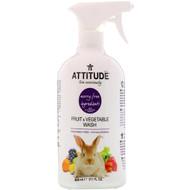 3 PACK OF ATTITUDE, Fruit & Vegetable Wash, 27.1 fl oz (800 ml)