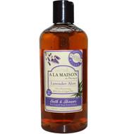 3 PACK of A La Maison de Provence, Bath & Shower Liquid Soap, Lavender Aloe, 16.9 fl oz (500 ml)