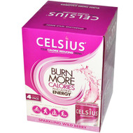 Celsius Live Fit Sparkling Wild Berry - 4 Cans