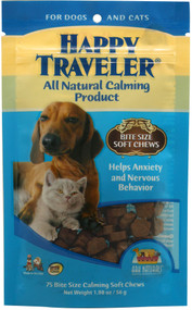 Ark Naturals, Happy Traveler for Dogs and Cats - 75 Soft Chews