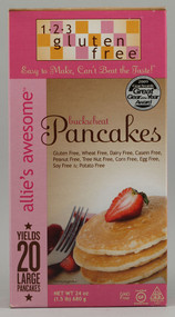 123 Gluten Free, Allies Awesome Buckwheat Pancakes - 24 oz