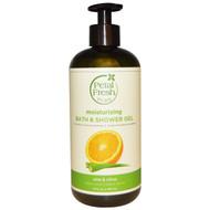 3 PACK of Petal Fresh, Pure, Refreshing Bath & Shower Gel, Aloe & Citrus, 16 fl oz (475 ml)