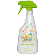 3 PACK of BabyGanics, Toy & Highchair Cleaner, Fragrance Free, 17 fl oz (502 ml)
