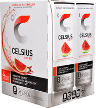 3 Pack of Celsius Live Fit Sparkling Watermelon - 4 Cans