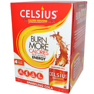 3 Pack of Celsius Live Fit Sparkling Cola - 4 Cans