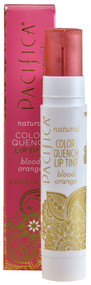 3 PACK OF Pacifica, Natural Color Quench Lip Tint, Blood Orange, 0.15 oz (4.25 g)