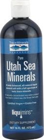 Trace Minerals Research, Pure Utah Sea Minerals - 16 fl oz
