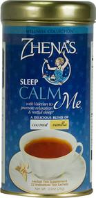 Zhenas Gypsy Tea, Wellness Collection CALM Me Sleep Tea - 22 Tea Bags (5 PACK)