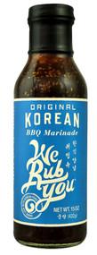 3 PACK of We Rub You Korean BBQ Marinade Original -- 15 oz