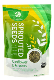 3 PACK of Living Intentions Activated Sprouted Seeds Jalapeno Mojo -- 8 oz