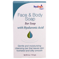 Hyalogic , Face & Body Soap, With Hyaluronic Acid, 4 oz (113.4 g)