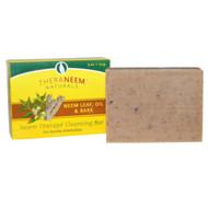 Organix South, TheraNeem Naturals, Neem Therap&& Cleansing Bar, Neem Leaf, Oil & Bark, 4 oz (113 g)