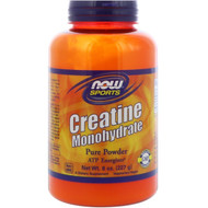 3 PACK of Now Foods, Sports, Creatine Monohydrate, Pure Powder, 8 oz (227 g)