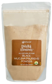 Vitaco - Dosha Elements, Black Mucuna Pruriens Powder - Non-GMO - 16 oz (454 g)