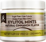3 PACK of Vitaco Xylitol Mints Cinnamon -- 250 Mints
