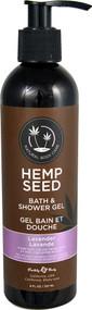 Earthly Body Hemp Seed Bath & Shower Gel Lavender - 8 fl oz