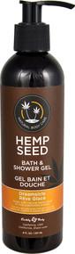 Earthly Body Hemp Seed Bath & Shower Gel Dreamsicle - 8 fl oz