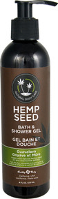 Earthly Body Hemp Seed Bath & Shower Gel Guavalava - 8 fl oz