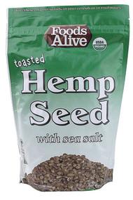 Foods Alive, Toasted Hemp Seed with Sea Salt - 14 oz