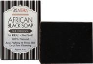Shea Terra Organics, African Black Soap Bath Bar - 4 oz