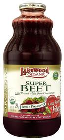 Lakewood, Organic Super Beet Fresh Pressed Juice - 32 fl oz