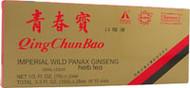 Superior, Qing Chun Bao Imperial Wild Panax Ginseng - 10 Servings