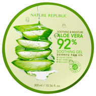 Nature Republic, Soothing & Moisture Aloe Vera 92% Soothing Gel, 10.56 fl oz (300 ml)