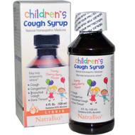 NatraBio, Childrens Cough Syrup, Yummy Cherry-Berry Flavor, 4 fl oz (120 ml)