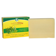 Organix South, TheraNeem Naturals, Neem Therap&& Cleansing Bar, Lemongrass & Patchouli, 4 oz (113 g)