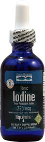 Trace Minerals Research, Ionic Iodine - 225 mcg - 2 fl oz