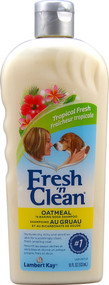 Lambert Kay Fresh N Clean Oatmeal N Baking Soda Shampoo Tropical Scent - 18 fl oz