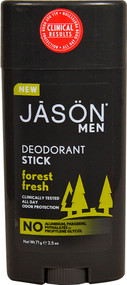 Jason Men Deodorant Stick Forest Fresh - 2.5 oz