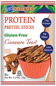 Kays Naturals, Protein Pretzel Sticks,  Cinnamon Toast - 6 Bags